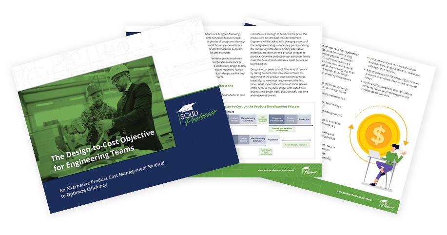 Design to Cost Ebook Cover