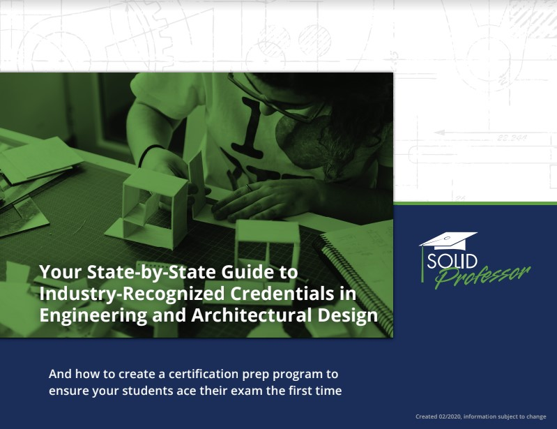 Guide to Industry-Recognized Credentials in Engineering and Architectural Design